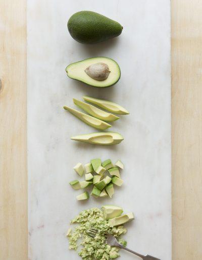 Fresh fuerte avocado