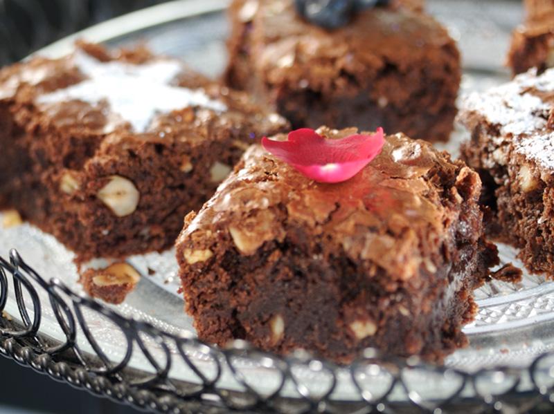 Sjokolade-brownies