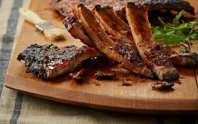 Sticky orange ribs