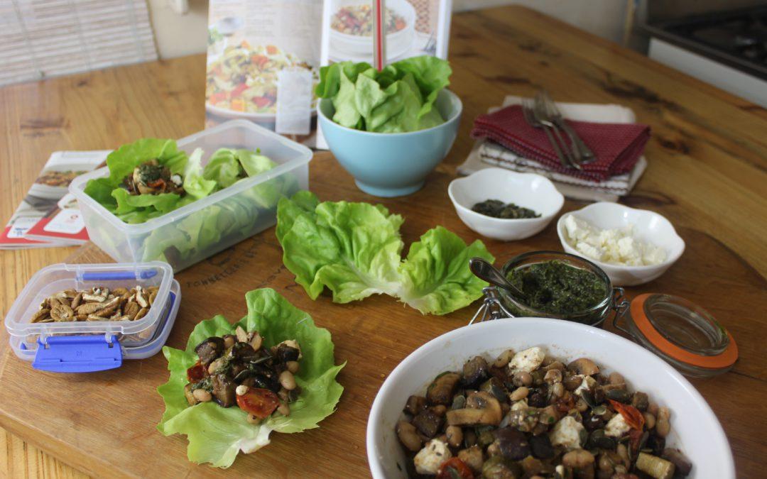 Pangebraaide groente met witbone