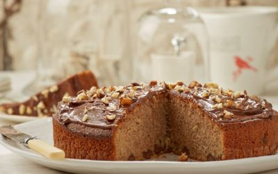 Chocolate & nut cake