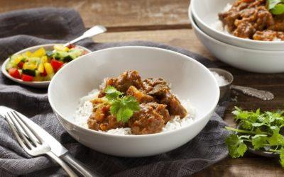 Mild winter curry