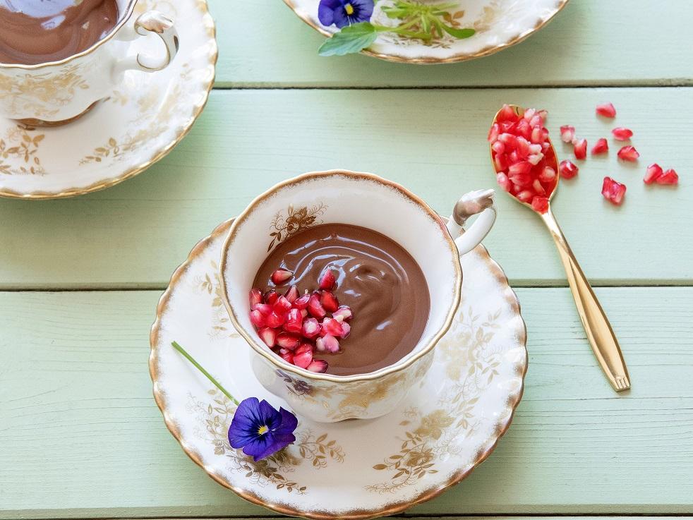 Sjokolademousse met jogurt